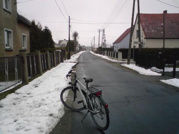 Ul.Wacława w dzielnicy Zadupie w Starych Siołkowicach