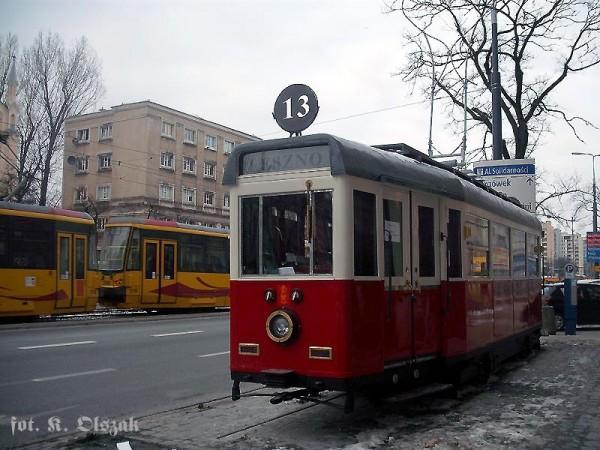 Berlinka na chodniku