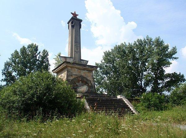 Pomnik Armii Czerwonej w Mikolinie
