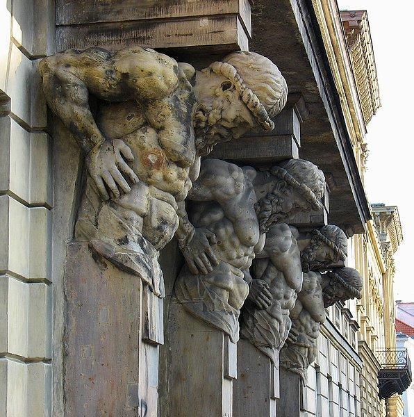 Atleci na Krakowskim Przedmieściu