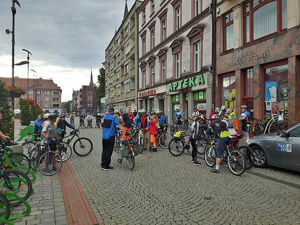 97 Bytomska Masa Krytyczna po trasie Tour de Pologne