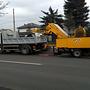 Sprzątanie ulic po zimie