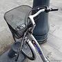 Łódzki Rower Publiczny ze złamaną kierownicą