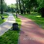 Nowa droga rowerowa w Parku Miejskim w Nowym Bytomiu