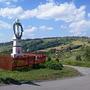 Widok z Przełęczy Koniakowskiej na Tyniok
