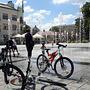 Fontanny i rowery w Piasecznie