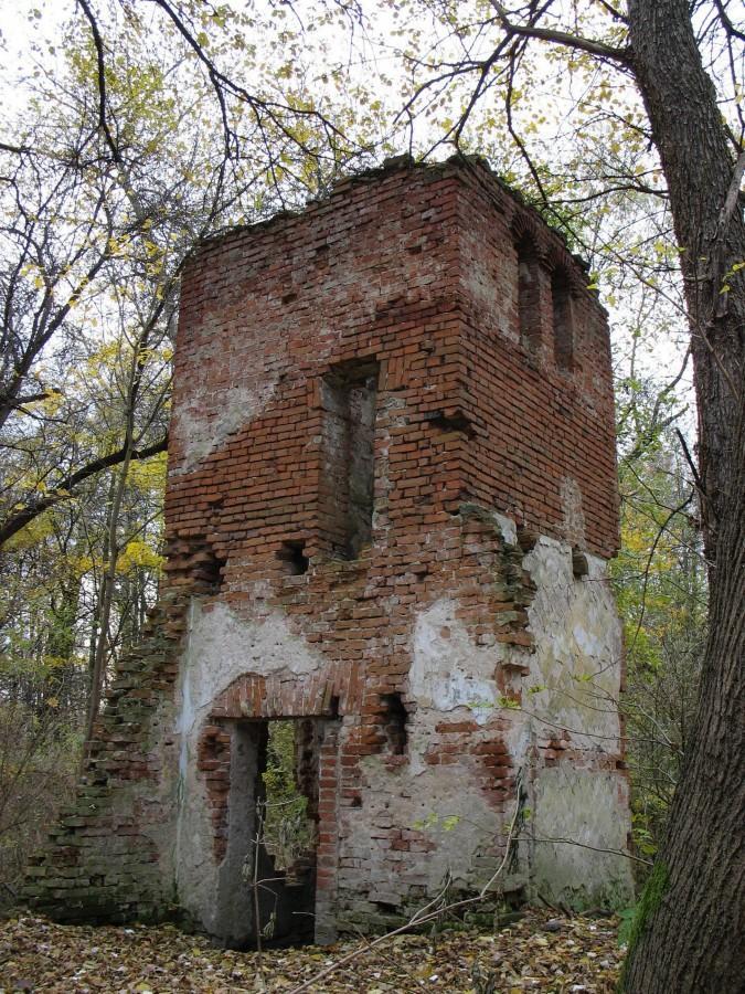 Morysin - ruiny Domu Dozorcy