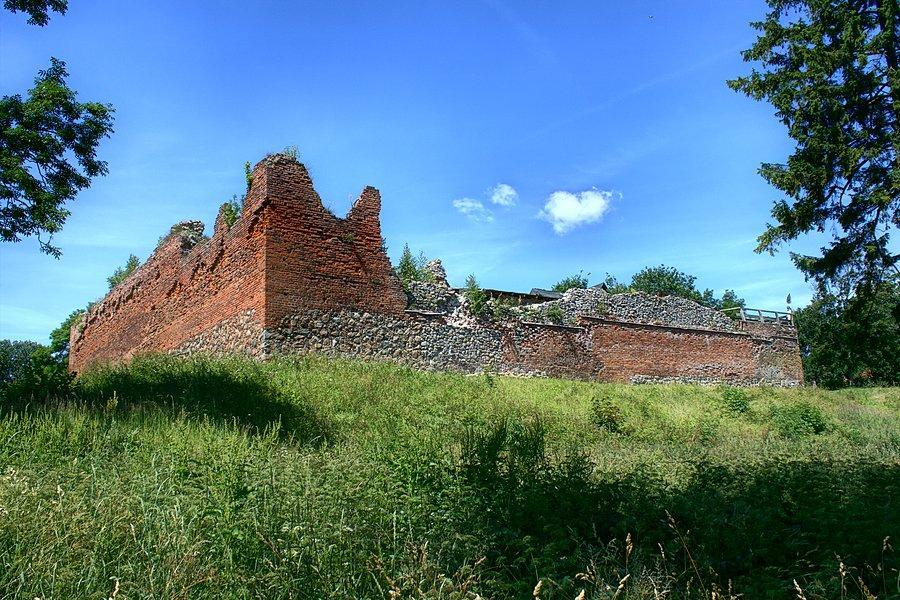 Ruiny Zamku Zabytki
