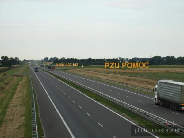 Poland highway ads